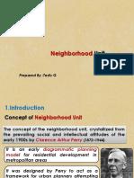 Neigborhood Unit