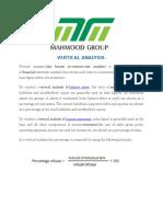 Horizontal & Vertical Analysis