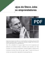 7 Consejos de Steve Jobs Para Los Emprendedores