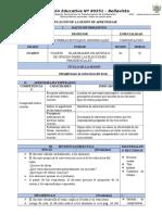 PLANIFICACION DE LA SESIÓN  COMPRENSION LECTOTA 01.docx