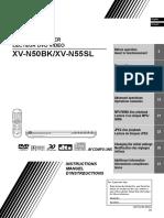 DVD Player modelo:Xv n50bk n55sl Ien