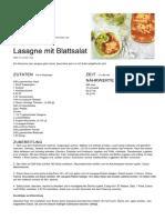 Lasagne Rezepte