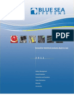 Blue Sea Systems 2011 Catalog