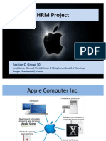 76949442 Apple Computer Inc HRM Project Ppt