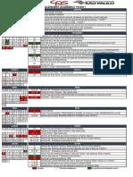 Calendario Acadêmico 1s2017