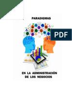 Paradigmas en la Administración de los Negocios
