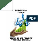 Fundamentos para la Gestión en las PYMEs