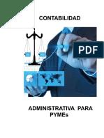 Contabilidad Administrativa para PYMEs