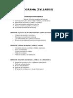 Cuaderno Pol. Económica