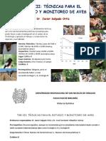 Tecnicas Para El Estudio y Monitoreo de Aves-javier Salgado