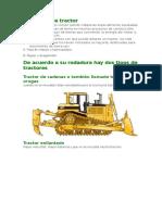 Definición de Tractor