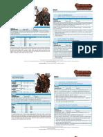 PACG Sheets CD Ranger