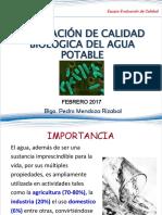 EVALUACIÓN DE CALIDAD BIOLOGICA DEL AGUA POTABLE.pdf