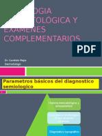 Semiologia Dermatologica y Examenes Complementarios