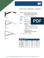 208 Series Ultimate L-Bracket™ specs