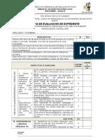Ficha de Calificacion Acompañante Multigrado