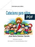 Catecismo Para Nihos - Jose Maria Palomar Garces