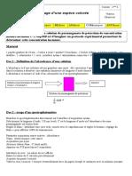 TP Dosage Espece Coloree Par Spectrophotometrie (1)