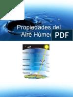 Diapositivas propiedades del aire humedo