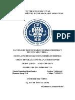 Base de Datos II-Informe 1
