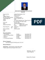 FORM Dokter Septyan Putra Yusandy