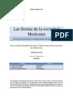 """Un Análisis Filosófico Del Ensayo """"Todos Santos, Día de Muertos"""" De_Octavio Paz."""