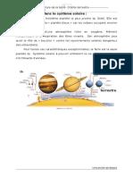 2-Globe Terrestre- Structure de La Terre- Croûte Terrestre