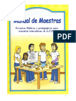 Manual de La Educadora 2016