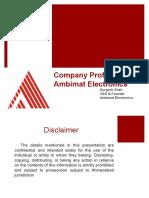 Ambimat Company Profile