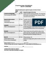 na specialty outcomes evaluation checklist