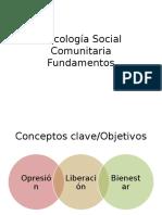 Psicología Social Comunitaria-Fundamentos