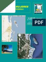 ISLA DE MUJERES. 63,800 M2 CON 90 ML DE PLAYA