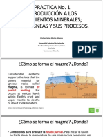 Introducción a los Yacimientos Minerales
