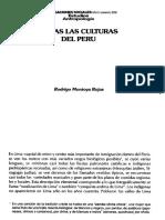 Todas Las Culturas Del Peru