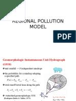 Regional Pollution Model