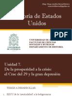 Unidad 7 De la prosperidad a la Crisis
