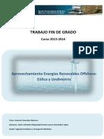 Aprovechamiento Energias Renovables Offshore- Eolica y Undimotriz