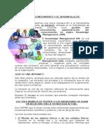 La Gestion Del Conocimiento y Desarrollo de Competencias