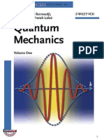 Mecanica Cuantica I - Claude Cohen- Bernard Diu