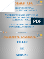 Normas Apa Actualizadas Consejeria Academica CEAD Palmira 2012