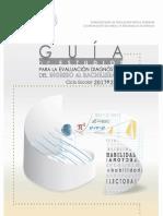 Guía de Estudios Evaluación Diagnóstica 2017-2018