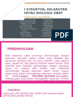 Hubungan Struktur, Kelarutan Dan Aktivitas Biologis Obat Revisi