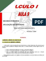 AULA 9 - MAXIMOS E MININOS.ppt