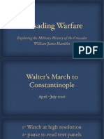The March of Walter to Constantinople on the first crusade