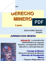 Derecho Minero 2da. Parte