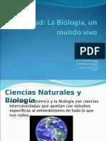 La Biologia Un Mundo Vivo