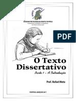 Aula 01 - O Texto Dissertativo (Introdução).pdf