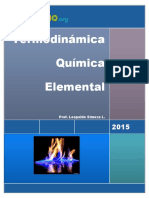Termodinámica Química Elemental