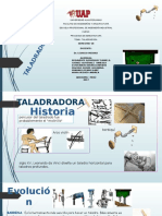 Taladradora Exposicion