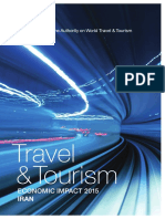 World Travel & Tourism Council - Iran2015